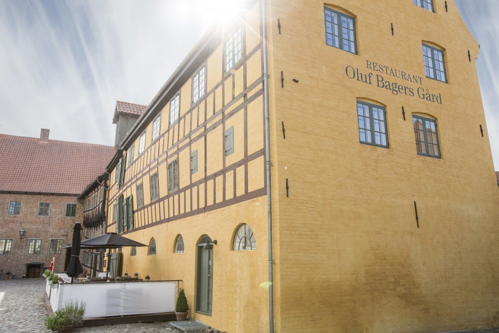 Oluf Bagers Gård Facade