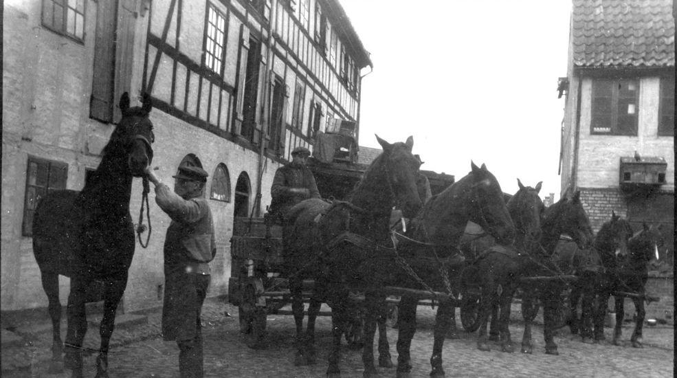 Oluf Bagers Gård - Historie