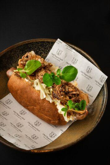 Gourmethotdog – Restaurant Oluf Bagers Gård, Odense