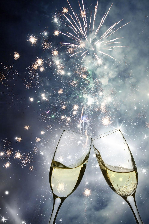 Godt nytår fra alle os på Oluf Bagers Gård