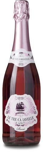 Le Tre Caravelle spumante rosé