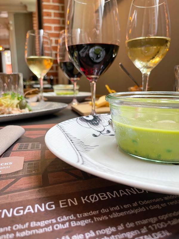 Ærtesuppe - 9-retters menu i Odense