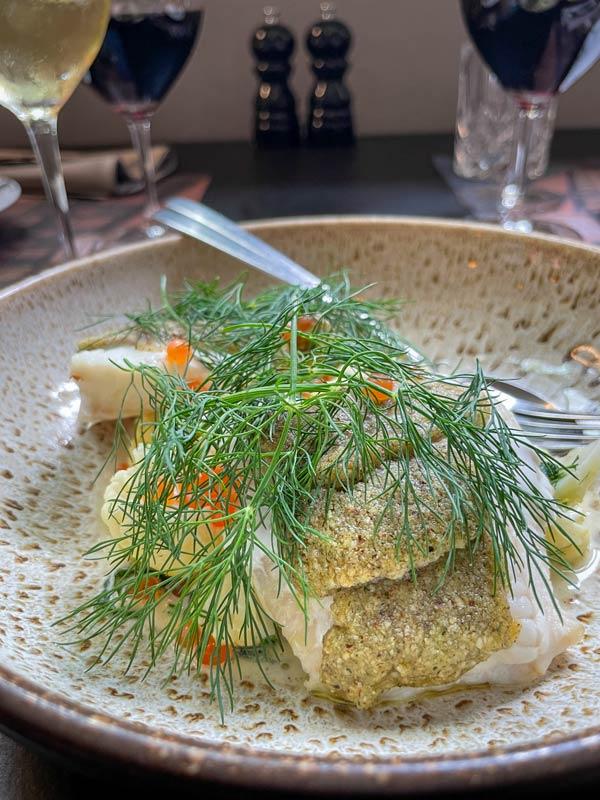 Havkat - 9-retters menu i Odense